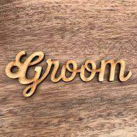 Wooden Name Circle Gift Tags