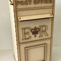Wooden Personalised Post Box