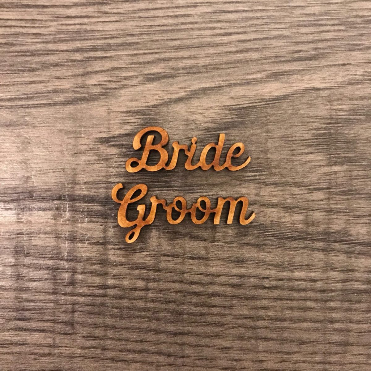 Extra Small Wooden Name