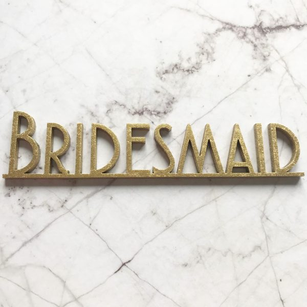 Gatsby Wooden Place Name