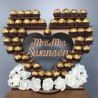 Personalised Ferrero Rocher Heart