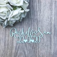 Boho Style Save the Date Magnet