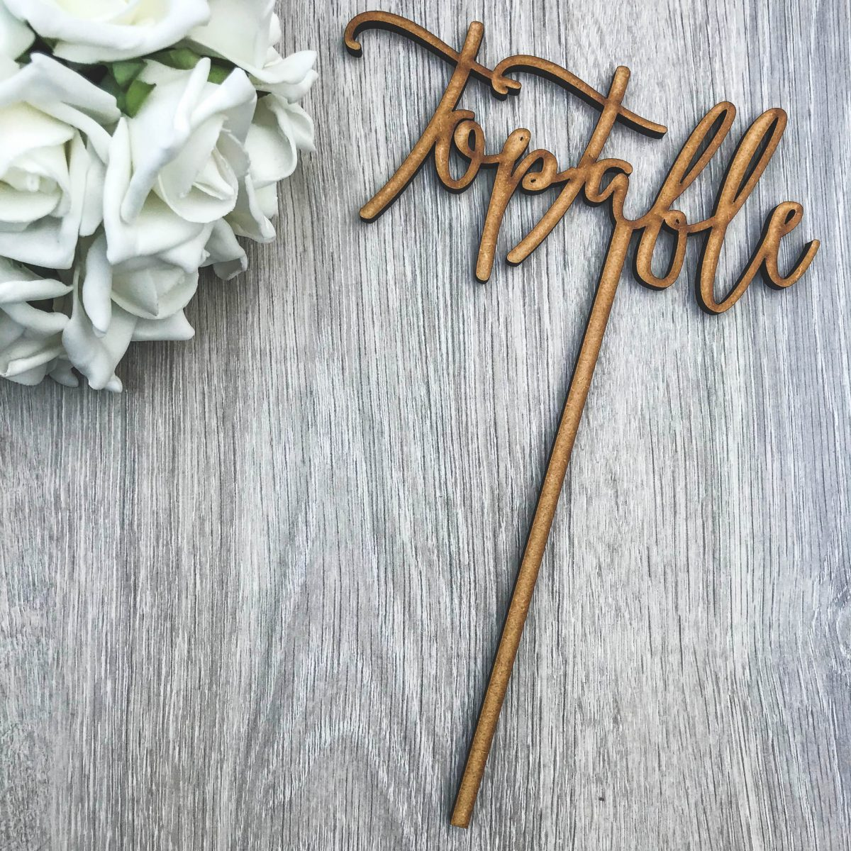 Boho Table Name / Numbers on Stake