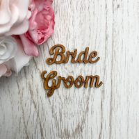 Script Style Wooden Name