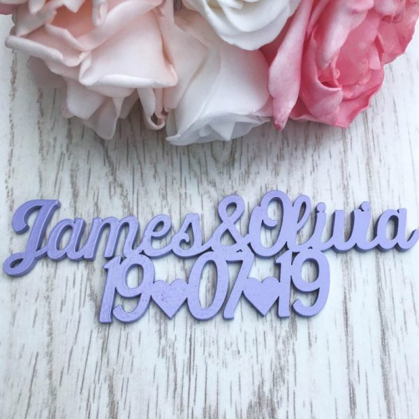 Script Save the Date Magnet