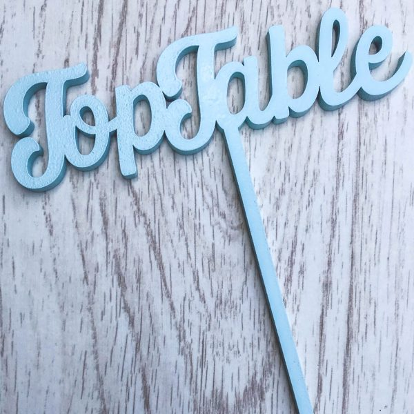 Table Name / Numbers on Stake