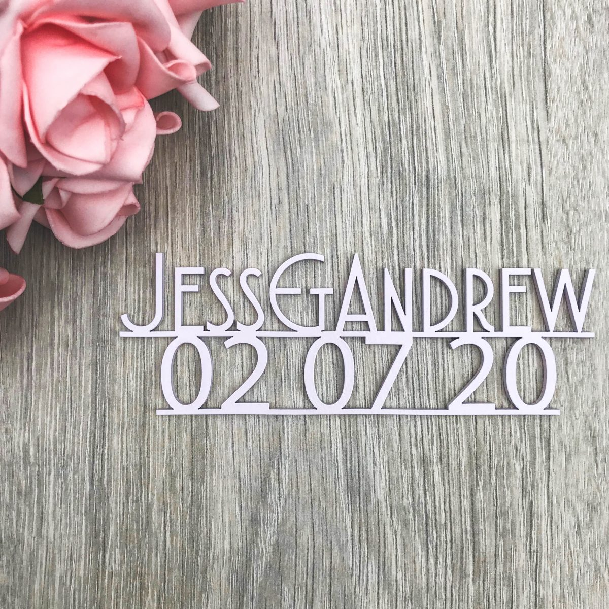 Gatsby Save the Date Magnet