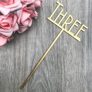 Gatsby Table Name / Numbers on Stake