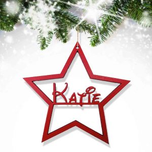 Christmas Star Tree Decoration