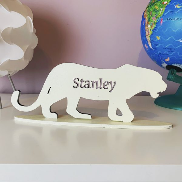 Standing Personalised Leopard