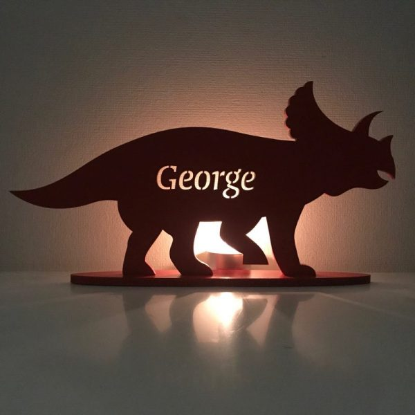 Standing Personalised Triceratops