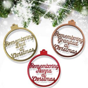 Remembrance Bauble