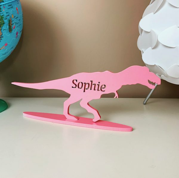 Standing Personalised T Rex