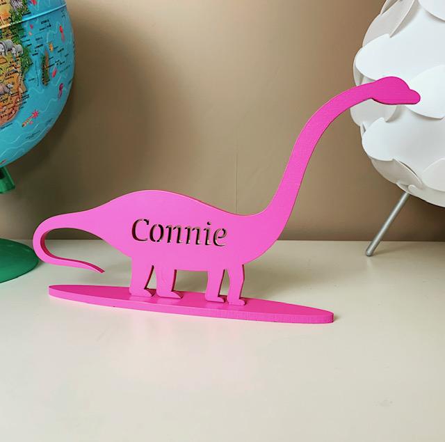Standing Personalised Brontosaurus