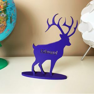 Standing Personalised Stag