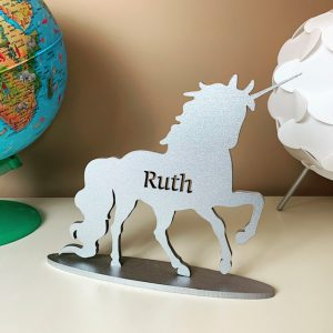 Standing Personalised Unicorn