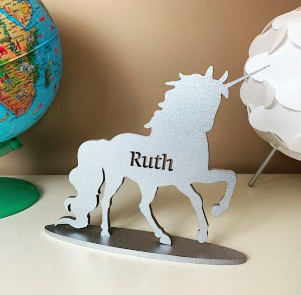 Standing Personalised Unicorn