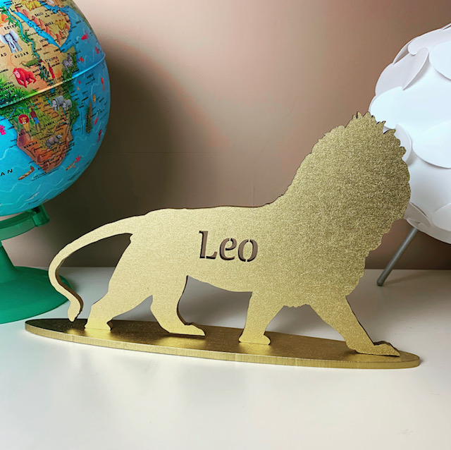 Standing Personalised Lion