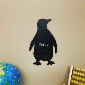 Large Penguin Personalised Name Sign
