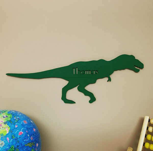 Large T Rex Personalised Name Sign