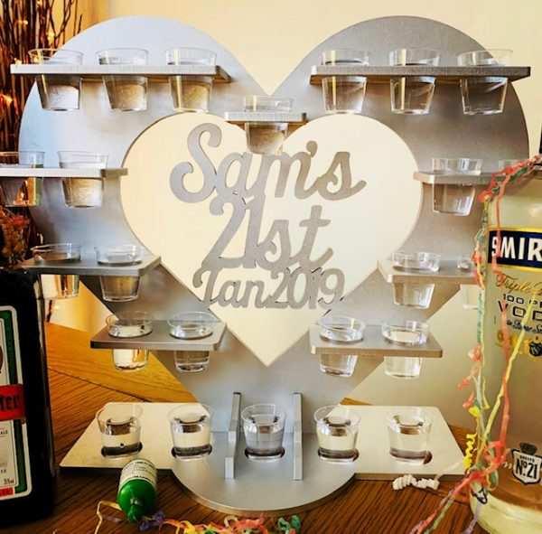 Personalised Shot Glass Stand