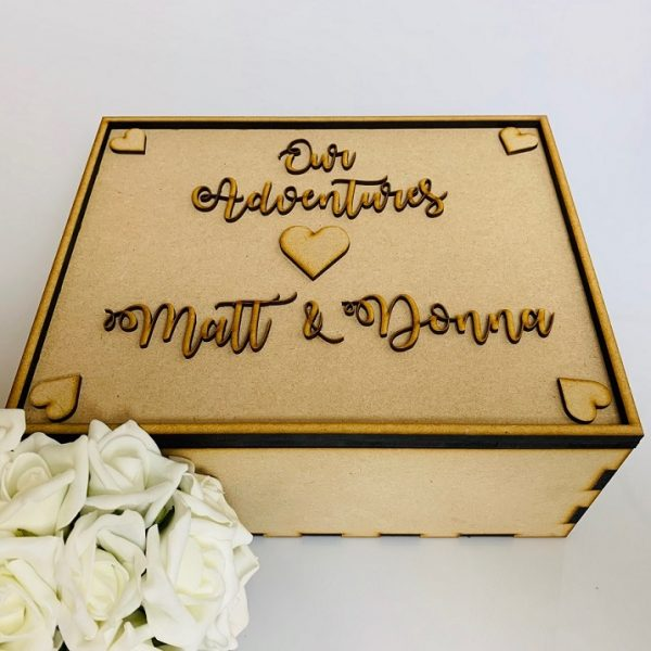 Personalised Wedding Day Memory Box