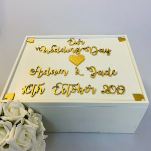 Personalised Wedding Day Memory Box