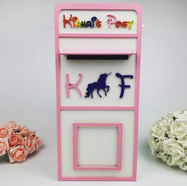 Assembled Wooden Children's Party Post Box