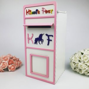 Assembled Wooden Children's Party Post Box