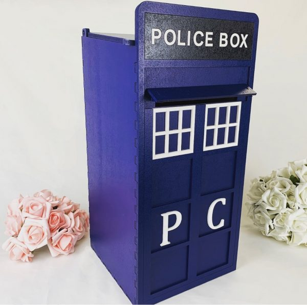 Assembled Wooden Police Post Box