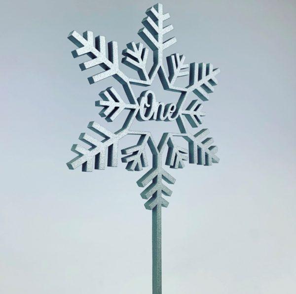 Snowflake Script Table Numbers on Stake