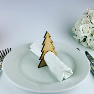 Wooden Christmas Tree Napkin holder