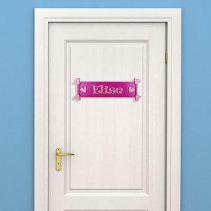 Rectangular Children's Door Sign