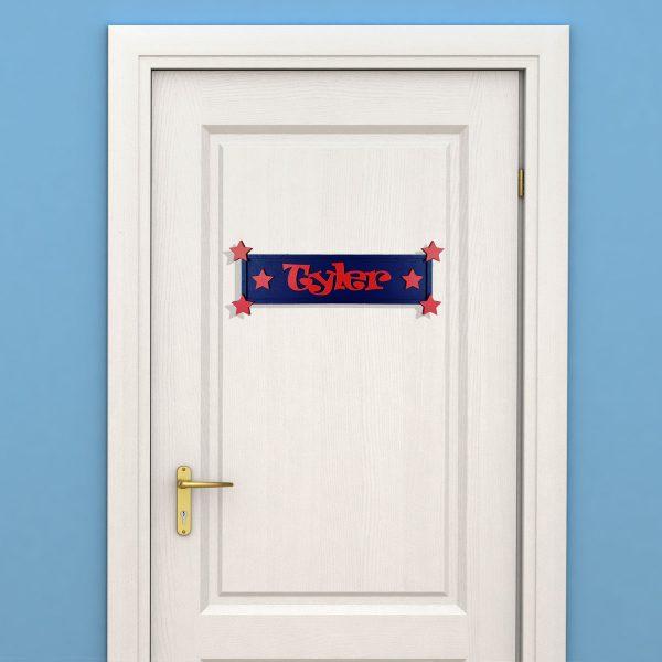 Rectangular Children's Door Sign