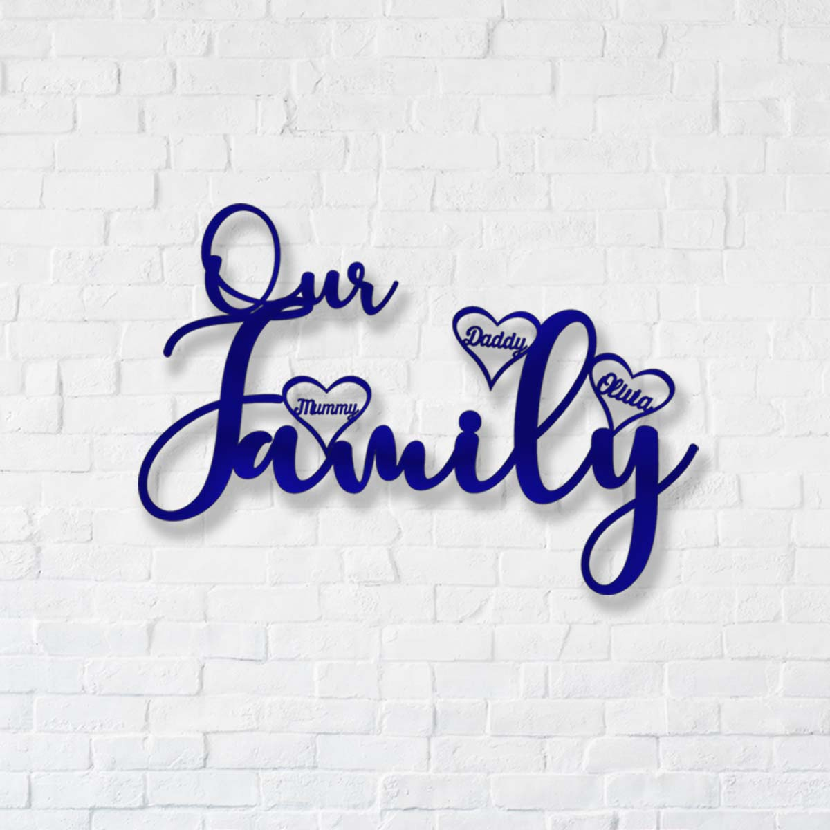 Our Family Together Forever Decal Style 1 - PhotoMal.com