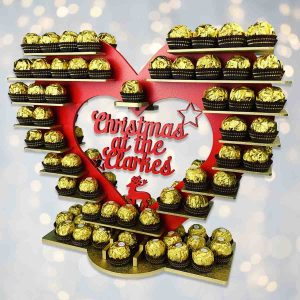 Christmas Ferrero Rocher Heart