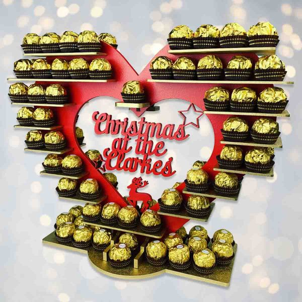 Christmas Ferrero Rocher Heart