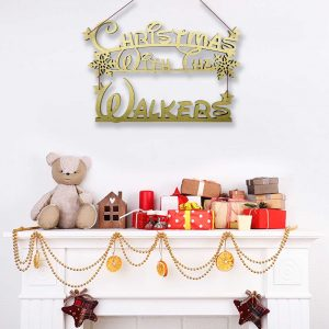 Fairytale Christmas With.. Hanging Sign