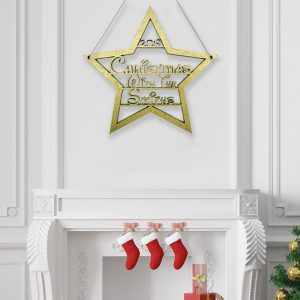 Star Fairytale Christmas With.. Hanging Sign