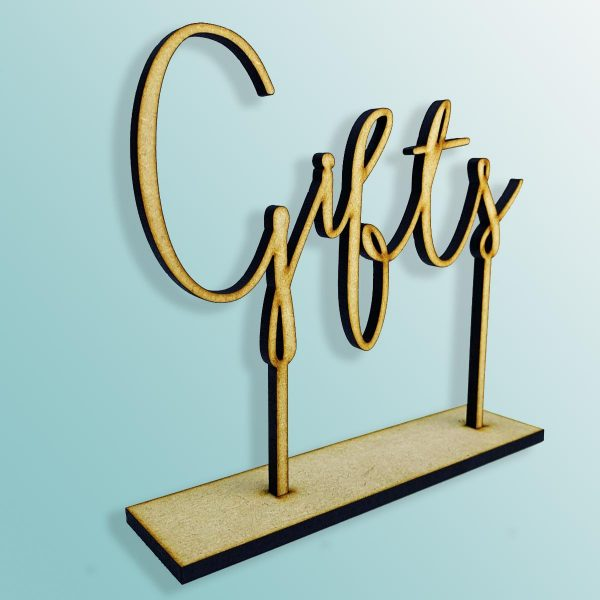 Standing Gifts Sign