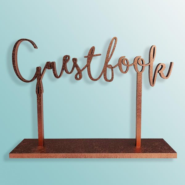 Standing Guestbook Sign