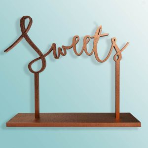 Guestbook, Sweets, Cards, Cake & Gifts Wedding Sign Bundle