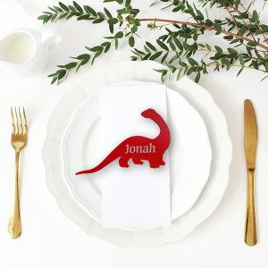 Brontosaurus Place Name Cutout