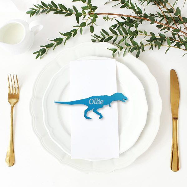 T-Rex Place Name Cutout