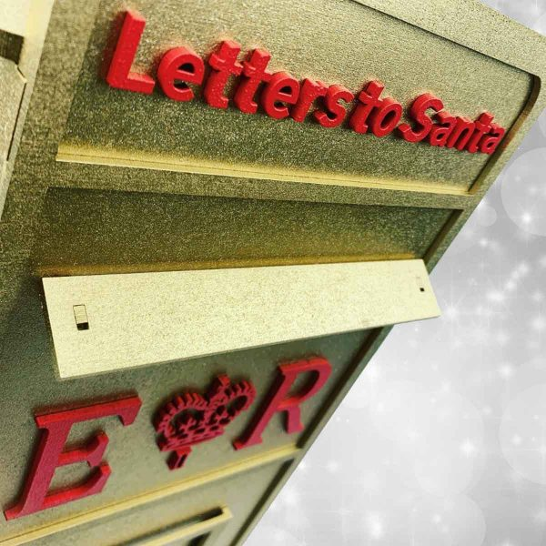 Letters To Santa Wooden Post Box
