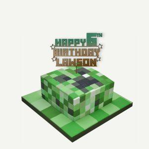 Blocks Wooden Cake Topper