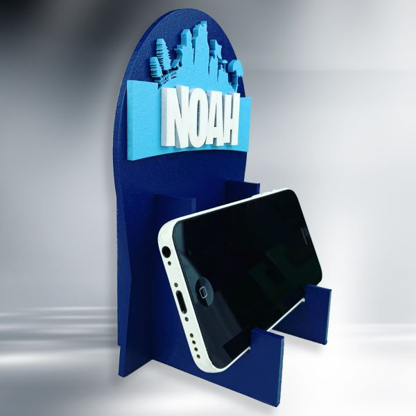 Apocalyptic Personalised Wooden Phone / Game Stand