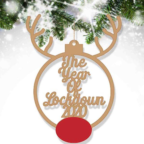 Year Of Lockdown 2020 Bauble