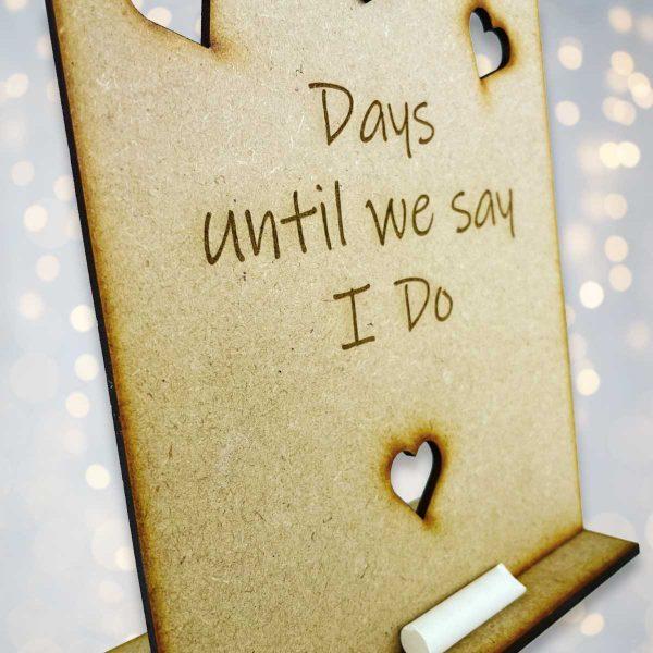 Days Until…. Chalkboard Sign