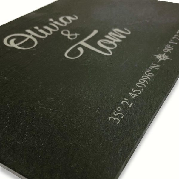 Personalised Slate GPS Placemats